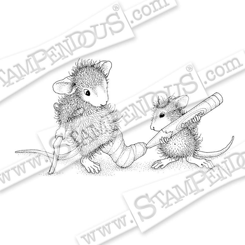 House-Mouse Designs® Cast Coloring by Janelle Stollfus