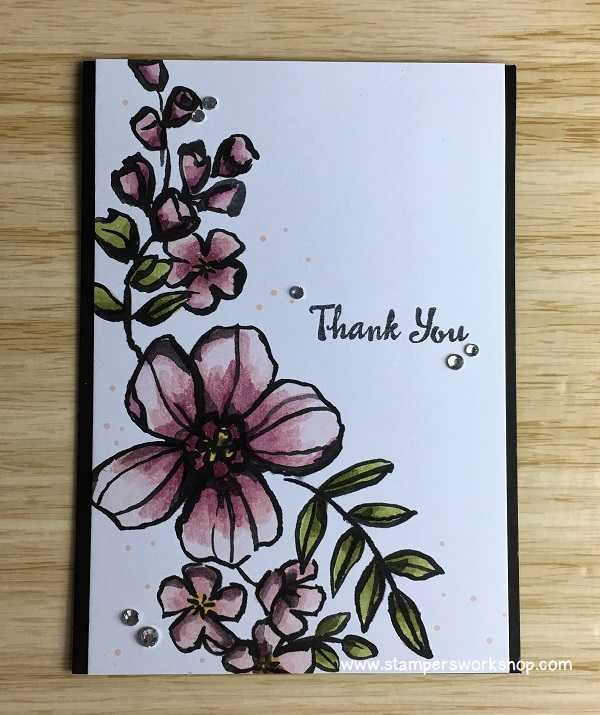 Thank You Card - Petal Passion Memories & More