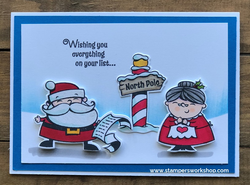 Stampers Workshop Christmas Card