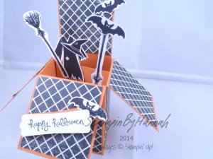 Stampin' Up! UK Card in a Box Halloween