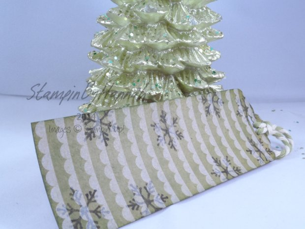 Stampin' Up! UK 12 Tags of Christmas Under the Tree