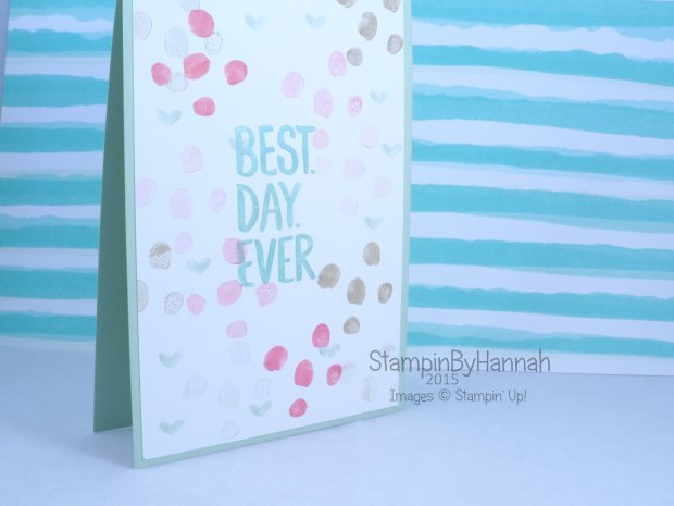 Stampin' Up! UK Best Day Ever Sale-a-bration In Colours