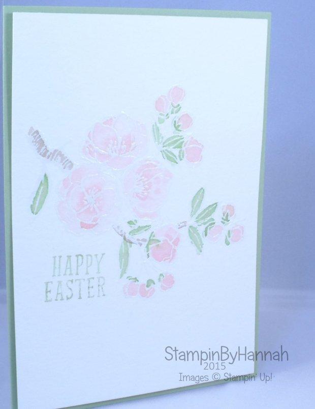 Stampin' Up! UK Easter Indescribable Gift Fantasy Stampers Challenge