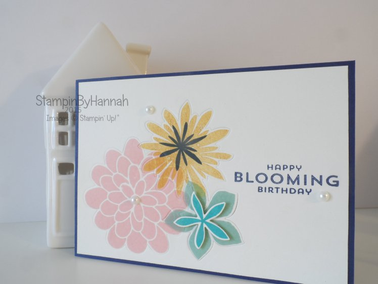 Stampin' Up! UK Faux In Lay Die cutting video tutorial
