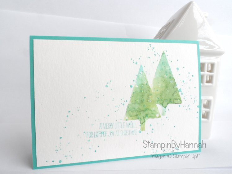 Stampin' Up! Uk Video Tutorial festival of trees
