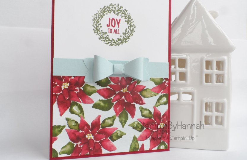 Stampin' Up! UK Simple Sketched Challenge Season of Cheer