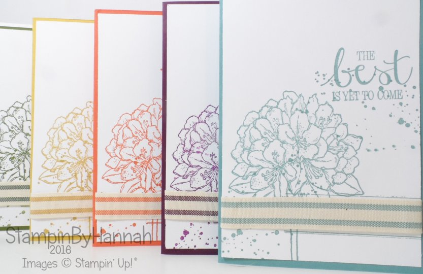 Stampin' Up! UK Best Thoughts Card