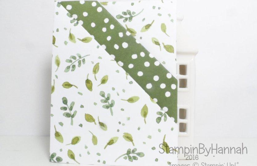 Fancy Fold Friday Diagonal Double Pocket Fold Planner Insert