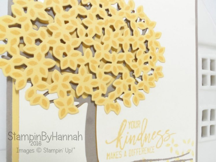 Just Because Card using Thoughtful Branches for Stampin' Up! UK
