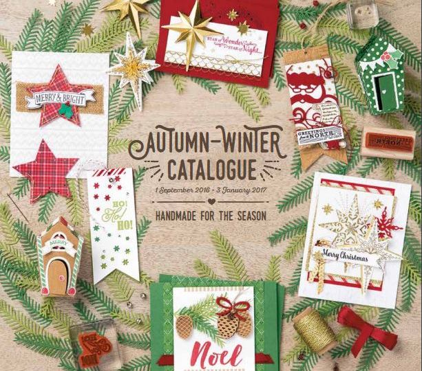 FREE copy of the Stampin' up! UK catalogue