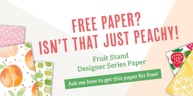 Stampin' Up! UK Designer Series Paper Buy One Get One Free