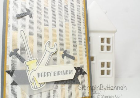 Make It Monday Male Birthday Card using Nailed It From Stampin' Up! UK