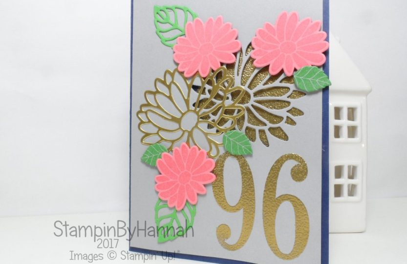 Sunday Colour Splash Need A Special Reason 96th Birthday Card