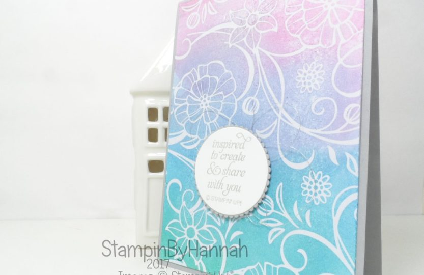 Welcome to my team card using Stampin' Up! products