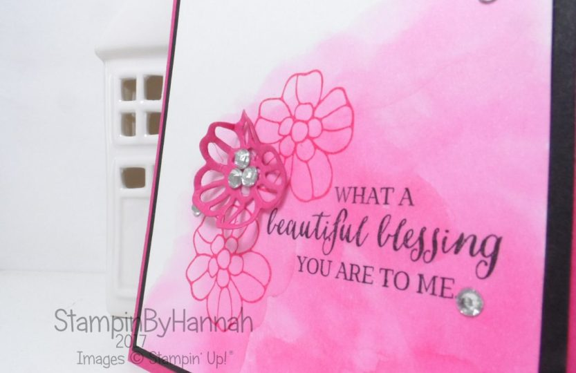 Global Design Project Just Because Card using Rose Wonder from Stampin' Up!