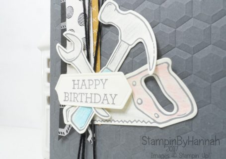 Male Birthday Card using Nailed It from Stampin' Up! UK