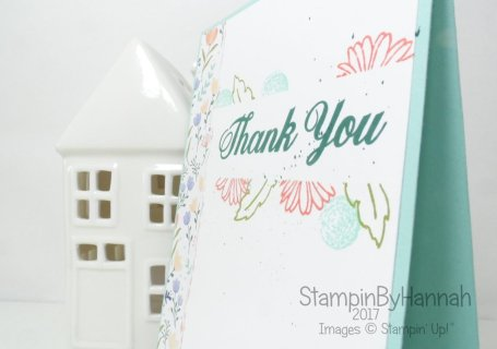 Techniques Series Video Tutorial Masking Technique using Sticky note tape and Delightful Daisy from Stampin' Up!