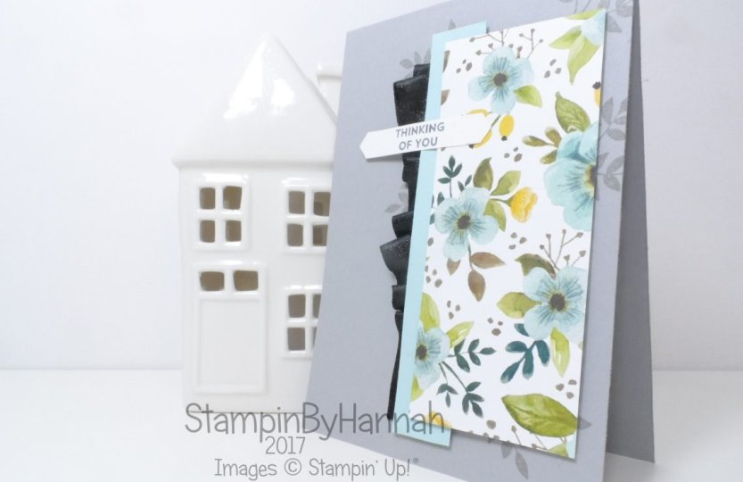 Challenge Card using Lots of Love from Stampin' Up! Thinking of you card