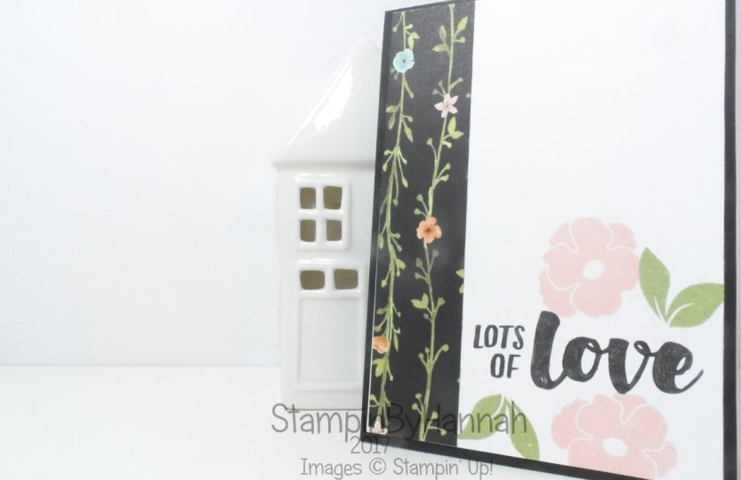 Techniques Series Simple Lots of Love Card Selective Inking Tutorial Video