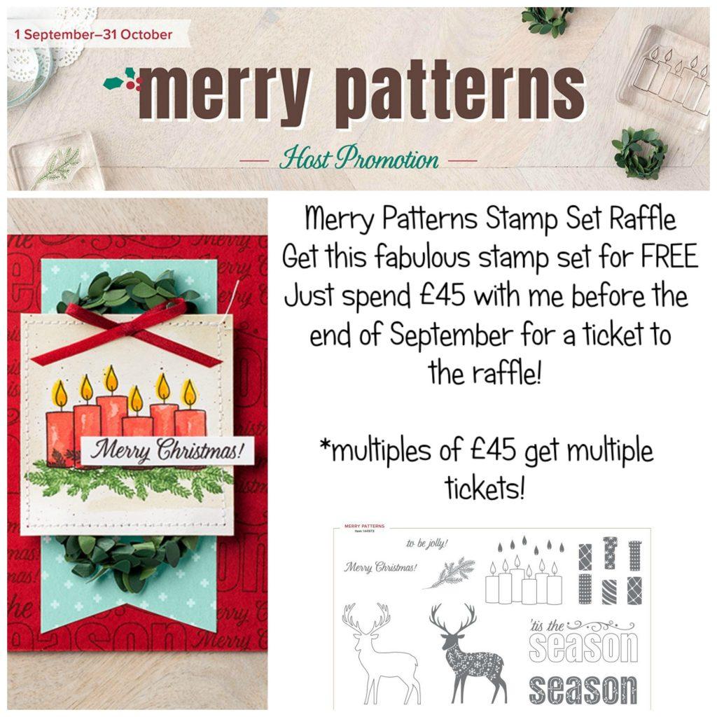 Merry Patterns Raffle