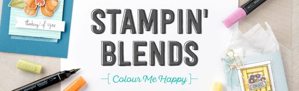 Stampin' Blends from Stampin' Up! Blends Club from StampinByHannah