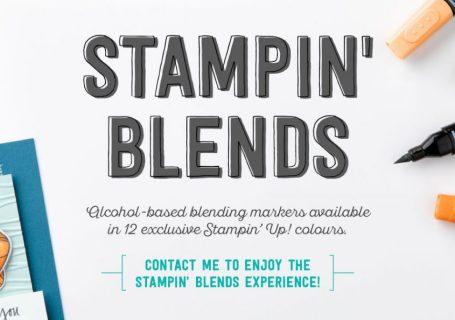 Stampin' Blends Club News Stampin' Up! UK