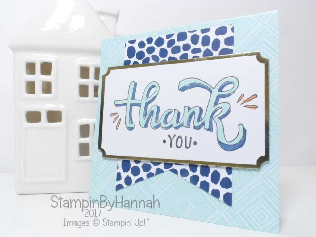 Make It Monday Quick and Easy Colour Me Happy Kit Card using Stampin' Blends Alcohol Markers from Stampin' Up!