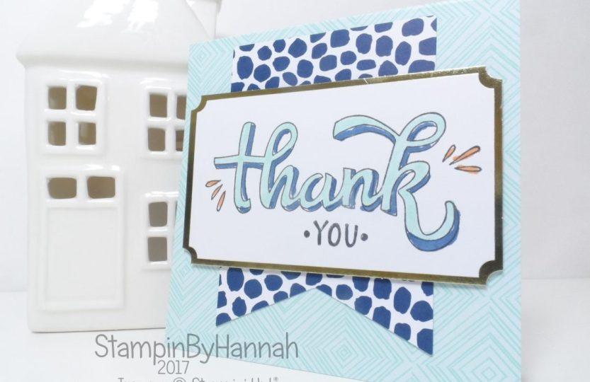 Make It Monday Quick and Easy Colour Me Happy Kit Card using Stampin' Blends from Stampin' Up!