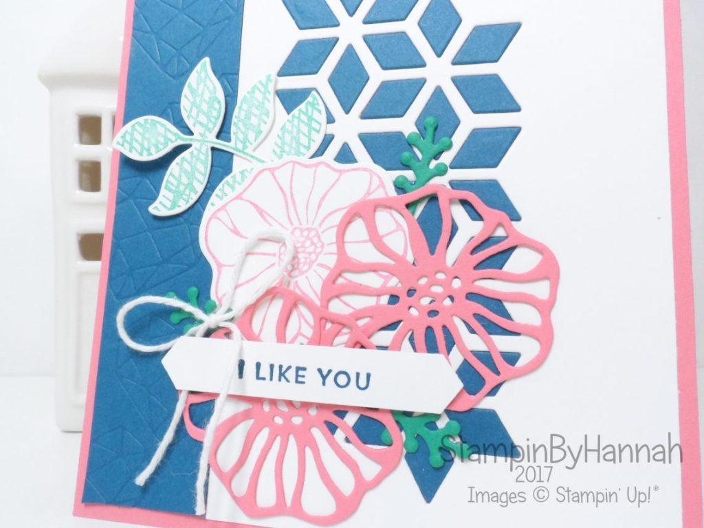 Kylie's International Blog Hightlights Love Card using Oh So Eclectic from Stampin' Up!