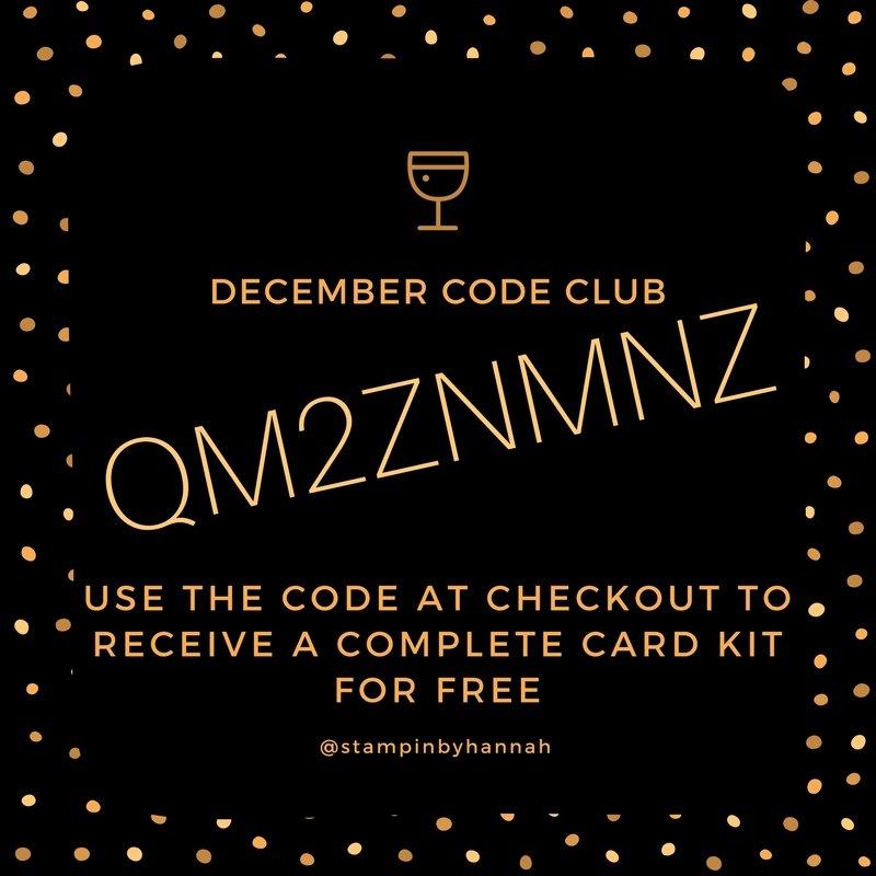 StampinByHannah Code Club Stampin' Rewards StampinByHannah