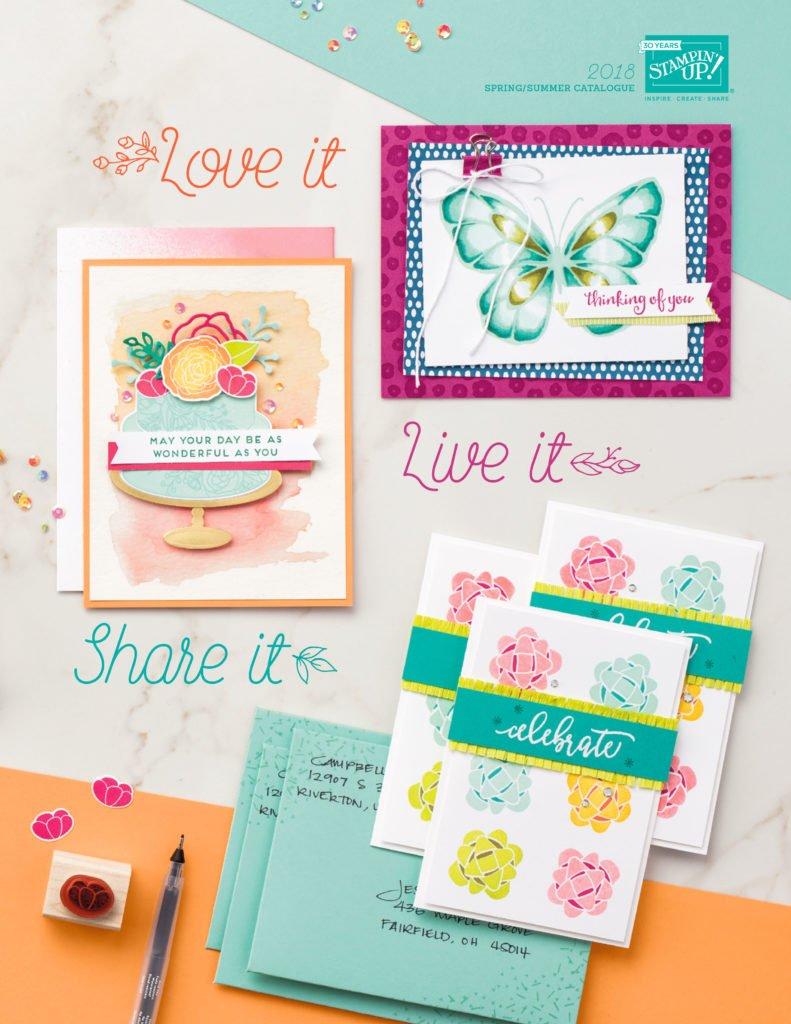 Spring Summer Catalogue Stampin' Up!