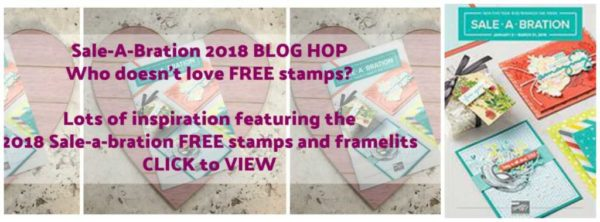 Sale-a-bration Kick off Blog Hop with Janet Wakeland