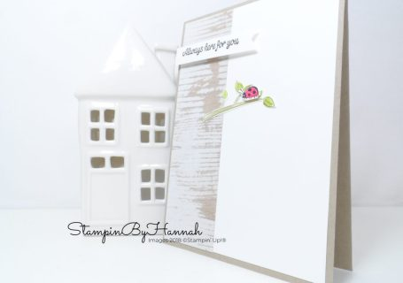 Sharing Sweet thoughts card for Thoughtful Thursday using Stampin' Up! products