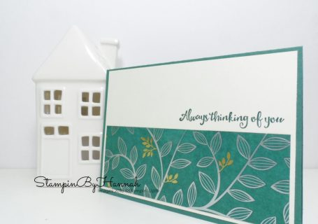 Sale-a-bration Spotlight How to make 3 cards with Springtime Foils Designer Series Paper from Stampin' Up!