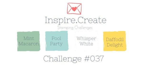 Inspire.Create.Challenge Stamping Colour Challenge