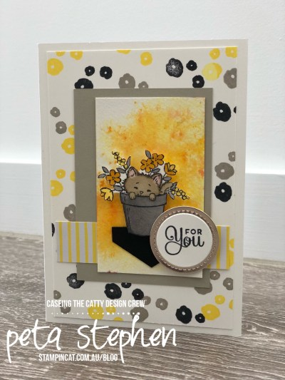 Stampin' Cat CTC183 Pretty Kitty