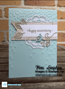 Falling In Love Stampin Up