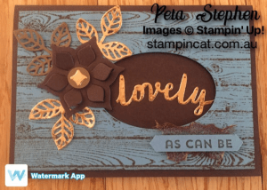 Stampin' Cat Lovely Words Flourish Thinlits Stampin' Up!