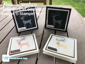 Stampin' Cat ESAD Dashing Deer Shimmer Paint Stampin' Up!