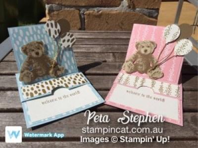Stampin' Cat JOS004 Baby Bear