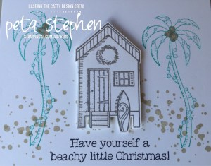 Stampin' Cat CTC146 Beachy Little Christmas