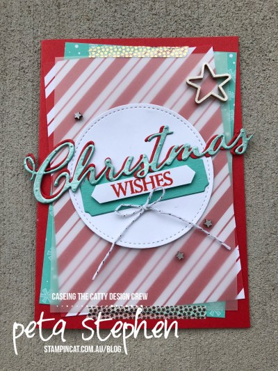 Stampin' Cat CTC201 Merry Christmas To All Santa's Workshop Memories & More Shimmer Paint Stampin' Up!