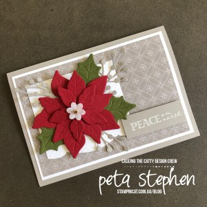 #stampin_cat #ctc279 #poinsettiadies #christmas #stampinup
