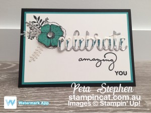 Stampin' Cat ESAD Amazing You Celebrate You