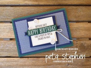 Stampin' Cat CTC 160 True Gentleman Birthday Wit