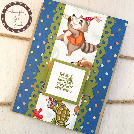 Stamping for Good Stampin Up Card Idea Birthday Memories OSW Card