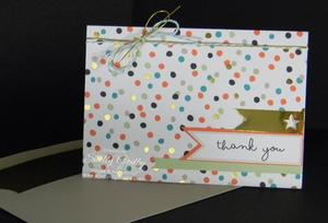 Get the Stampin' Up! Good as Gold Card Kit for free with $50 purchase!