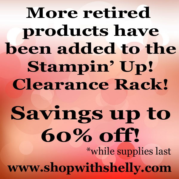 new items are now in the clearance rack save up to 60
