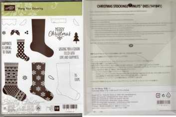 Hang Your Stocking Bundle $46 Hang Your Stocking Photopolymer Stamp Set and Christmas Stockings Thinlits Dies