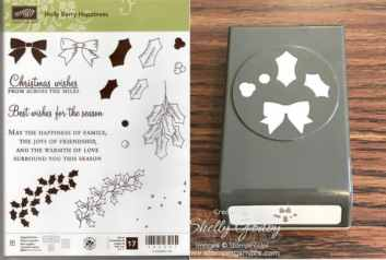 Holly Berry Happiness Bundle $32 Holly Berry Happiness Photopolymer Stamp Set & Holly Berry Builder Punch